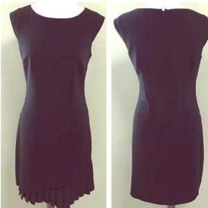 🌿WHBM Jet Black Drop Waist Dress